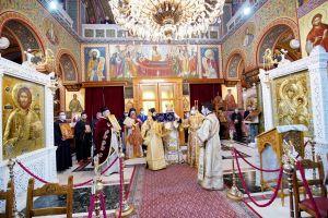 Η Κυριακή της Ορθοδοξίας στον Καθεδρικό Ναό Αγίας Τριάδος Πειραιώς