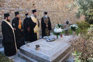 Ο Μητροπολίτης Σερρών Θεολόγος τίμησε την μνήμη του μεγάλου προκατόχου του Μαξίμου (Ξύδα)