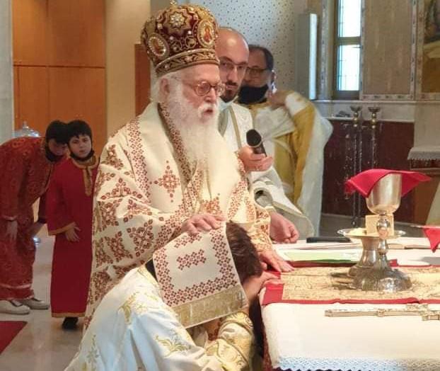 """Αλβανίας Αναστάσιος: """"Ο λαός θέλει κληρικούς γεμάτους στοργή και αγάπη"""""""
