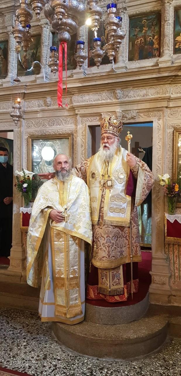 Ο Μητροπολίτης Κερκύρας κ.Νεκτάριος χειροθέτησε πρωτοπρεσβύτερο τον  π. Γεώργιο Φαγογένη
