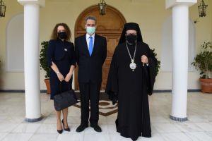 Στον Μητροπολίτη Μεσσηνίας  κ.Χρυσόστομο  ο Υφυπουργός Παιδείας  Άγγελος Συρίγος