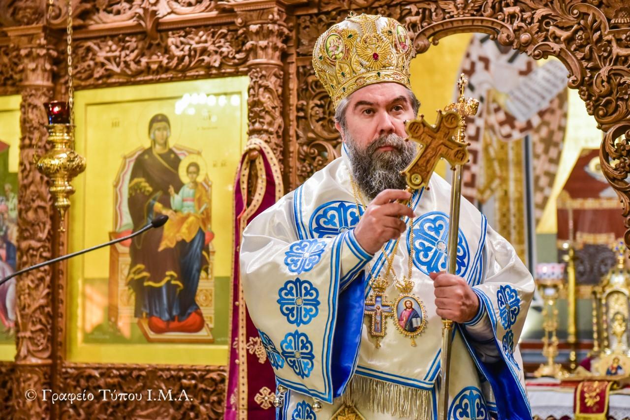 You are currently viewing Σεβ. Σερρών: «Στην Εκκλησία ζούμε το μυστήριο της εν Χριστώ ζωής συν πάσι τοις Αγίοις»
