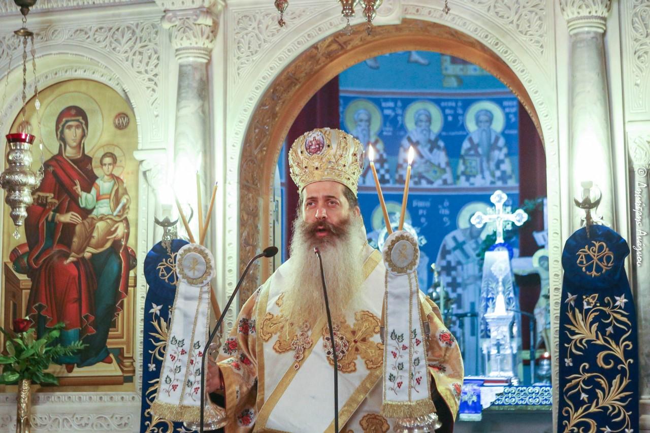 You are currently viewing Φθιώτιδος Συμεών: «Ο Άγιος Νικόλαος Πλανάς μας δείχνει το δρόμο της απλότητας και της προσευχής»