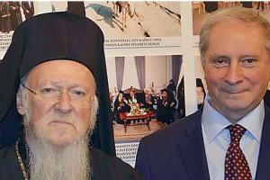 Νίκος Μαγγίνας: Ο φύλακας άγγελος του Οικουμενικού Πατριάρχη