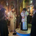Κουρά νέας Μοναχής στην Ι. Μονή Αγίου Ιλαρίωνος Προμάχων Αριδαίας κοντά στον  Γέροντα Παίσιο