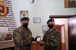 Την ιστορική Μονή Μολυβδοσκεπάστου στα σύνορα επισκέφθηκε ο Αρχηγός  ΓΕΕΘΑ κ. Φλώρος