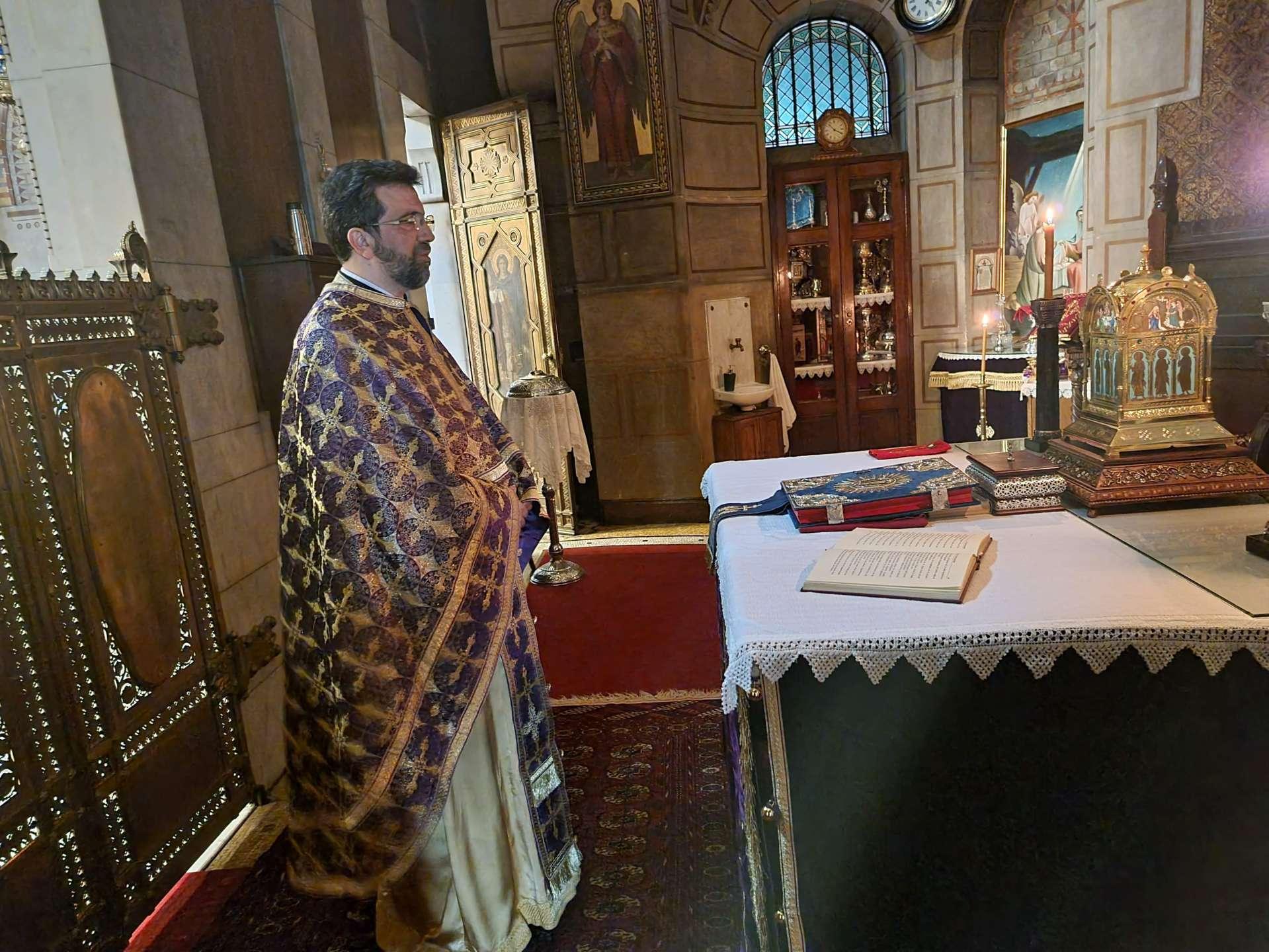 Ο Μεγάλος Κανόνας στον Άγιο Στέφανο Παρισίων