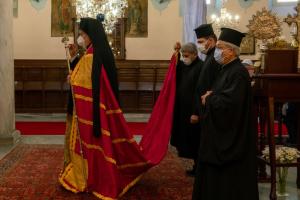 Οι Γ' Χαιρετισμοί στην Αγία Ευφημία Χαλκηδόνος από τον Γέροντα Χαλκηδόνος κ.Εμμανουήλ