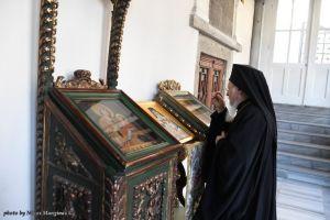 """Οικουμενικός Πατριάρχης: """"Η μνήμη του Πατριάρχου Γρηγορίου Ε' εμφανίζει στον κόσμο την αξία την οποία έχει για την αμώμητον πίστη των Ορθοδόξων"""""""
