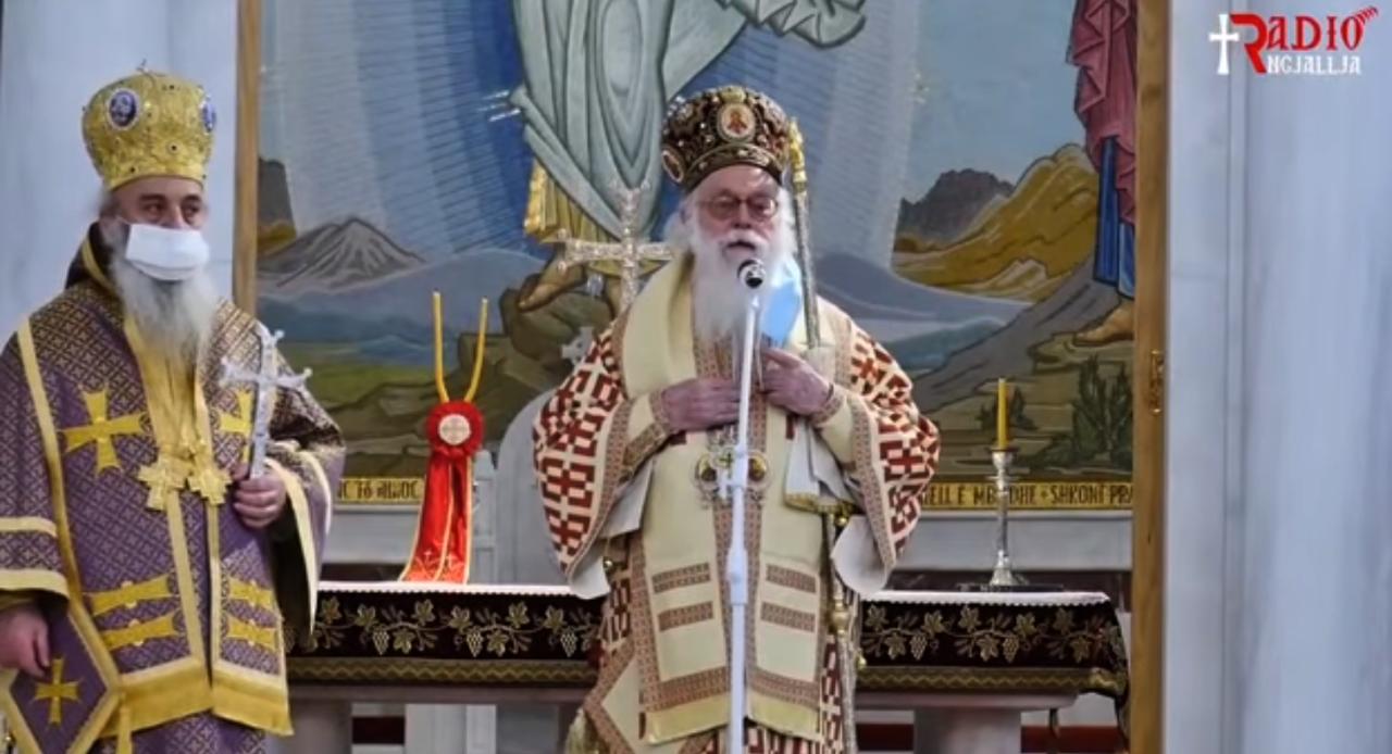 """Αρχιεπίσκοπος Αναστάσιος: """"Ας προσευχηθούμε, Θεέ μου ελευθέρωνέ με από τον εαυτό μου"""""""