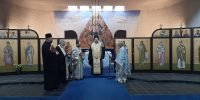 Τρισάγιο στον Ι. Ναό του Απ.Παύλου στο Σαμπεζύ για τον Γέροντα Νικαίας Κωνσταντίνο και τον Νικόλαο Μαγγίνα