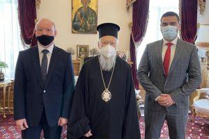 Το Οικ. Πατριαρχείο επισκέφθηκε ο Γεν. Πρόξενος της Βουλγαρίας στην Πόλη