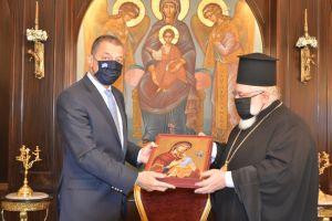 Συστρατευμένοι- Ο Υφυπ. Εθνικής Αμύνης στον Μητροπολίτη Διδυμοτείχου Ορεστιάδος & Σουφλίου κ. Δαμασκηνό