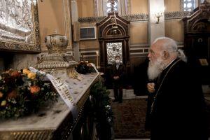 Η βαρυσήμαντη και ιστορική ομιλία του Αρχιεπισκόπου Ιερωνύμου για τον Πατριάρχη Γρηγόριο τον Ε ´: « Και αυτό θα περάσει και το Πάσχα είναι εγγύς. Το κάθε Πάσχα γίνεται δική μας μέρα γιορτής».