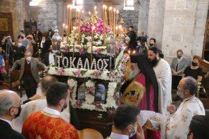 Οι Μεγάλες Ώρες και ο Εσπερινός της Αποκαθηλώσεως στην Παναγία Εκατονταπυλιανή στην Πάρο