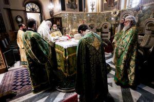 Κυριακή των Βαΐων: Στον Καθεδρικό Ι. Ναό Αθηνών ο Αρχιεπίσκοπος Ιερώνυμος
