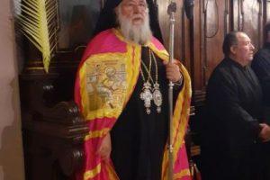 Ο Εσπερινός των Βαίων στον Άγιο Σπυρίδωνα  με τον Σεβ.Κερκύρας κ.Νεκτάριο
