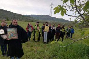 Σε ερειπωμένο ναό του Λαζάρου εορτάστηκε με λιτανεία η ανάστασή του