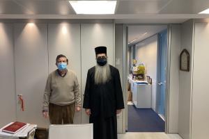 «Αμ´έπος,αμ´έργον» ο Σεβ. Φθιώτιδος Συμεών: Ο κ.Αθανάσιος Μαρτίνος αρωγός στην Μητρόπολη Φθιώτιδος για τον Ναό του Νοσοκομείου