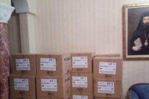 Σέρρες: Μεγάλη προσφορά υγειονομικού υλικού στην Μητρόπολη