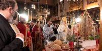 Ενθρόνιση του νέου ηγουμένου της Ι. Μονής Παλαιοκαστρίτσας  από τον Σεβ. Κερκύρας κ. Νεκτάριο