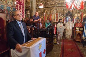 """Δημητριάδος Ιγνάτιος: """"χωρίς αληθινή Παιδεία δεν υπάρχει Ελευθερία"""" – Τιμήθηκε η έναρξη της Επανάστασης στις Μηλιές του Πηλίου"""