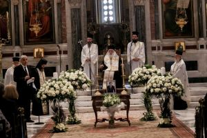 Ο Αρχιεπίσκοπος Ιερώνυμος στο ετήσιο μνημόσυνο του Δημήτρη Κρεμαστινού