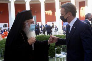 Ο Αρχιεπίσκοπος στην εκδήλωση για τα 40 χρόνια της Ελλάδας στην Ευρωπαϊκή Ένωση