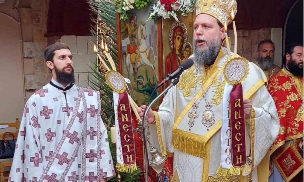 Η εορτή του Αγίου Γεωργίου του Τροπαιοφόρου στην Ι.Μ. Νέας Ιωνίας