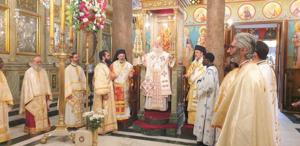 Η Κυριακή του Πάσχα στο Πατριαρχείο Αλεξανδρείας