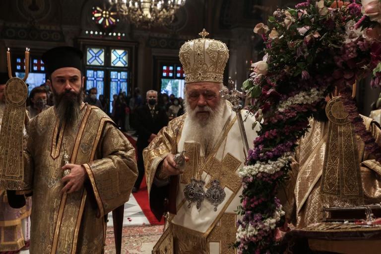 Ο Επιτάφιος  Θρήνος στη Μητρόπολη Αθηνών με τον Αρχιεπίσκοπο Ιερώνυμο,μια αληθινή πανδαισία!