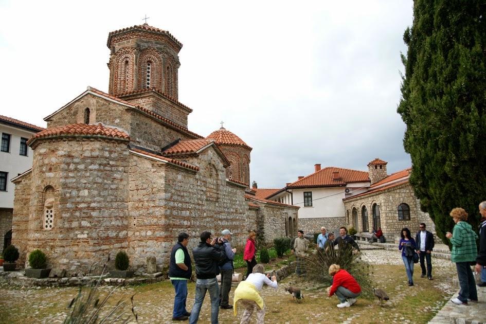 You are currently viewing Μονή οσίου Ναούμ στα Σκόπια: Μνημείο Ελληνορθοδοξίας