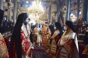 Η Κυριακή της Σαμαρείτιδος στο Οικουμενικό Πατριαρχείο παρουσία του Διοικητή του Αγίου Όρους και Προέδρου των Αρχόντων κ. Αθανασίου Μαρτίνου