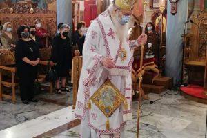 Η εορτή του Αγίου Γεωργίου στο Περιστέρι με τον Σεβ. Μητροπολίτη Περιστερίου κ. Κλήμεντα