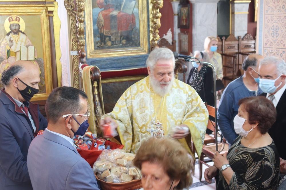 Η εορτή του Μεγαλομάρτυρος Αγίου Γεωργίου στη Σύρο
