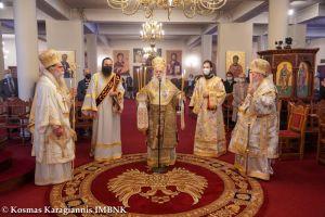 Πολυαρχιερατικό Συλλείτουργο για τον Αγ. Λουκά τον Ιατρό στην Ι. Μ. Δοβρά Βεροίας