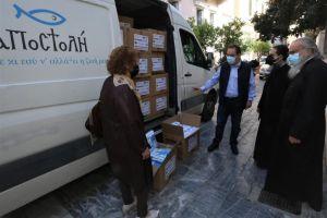 Η «Αποστολή» κοντά στους συνανθρώπους μας διανέμει 720.000 μάσκες για ασφαλή επιστροφή στην καθημερινότητα