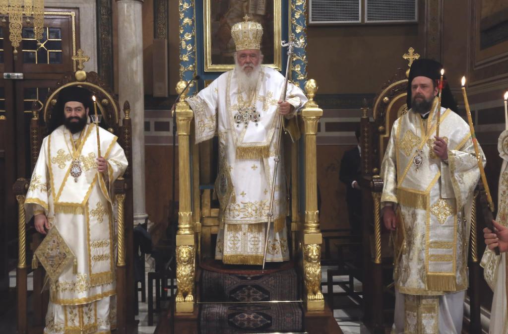 Η Ακολουθία της Αναστάσεως στον Καθεδρικό Ι. Ναό Αθηνών