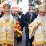 Το «Παναγιοσκέπαστο» Αίγιο τίμησε υποδειγματικά και μεγαλό-πρεπα την πολιούχο του Παναγία Τρυπητή