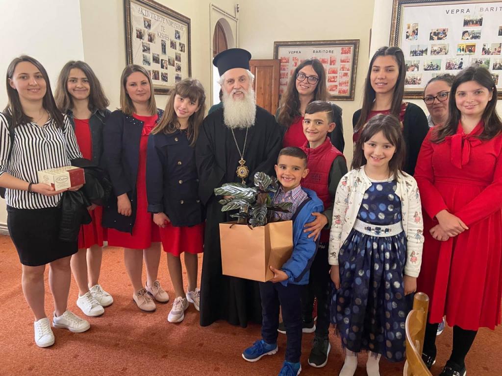 Πανηγυρικά εόρτασε ο καθεδρικός ναός του αγίου Γεωργίου στο Φίερι Αλβανίας