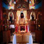 Στην Ιερά Μονή Αγιάς Τριάδος Λαγκαδά τελέστηκε μνημόσυνο επ ευκαιρία έξι μηνών από της κοιμήσεως του Μητροπολίτη Λαγκαδά Ιωάννου
