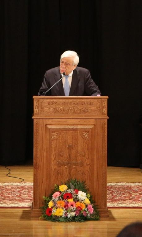 Έναρξη του Συνεδρίου της Ι.Μ. Φθιώτιδος με ομιλητή τον κ. Προκόπιο Παυλόπουλο