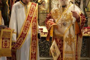 Χειροτονία ιεροδιακόνου στην Ιερά Μονή Τρικόρφου