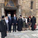 Επίσκεψη του Πρωθυπουργού του Μαυροβουνίου στον πανεπιστημιακό Ιερό Ναό Εισοδίων της Θεότοκου (Καπνικαρέα)