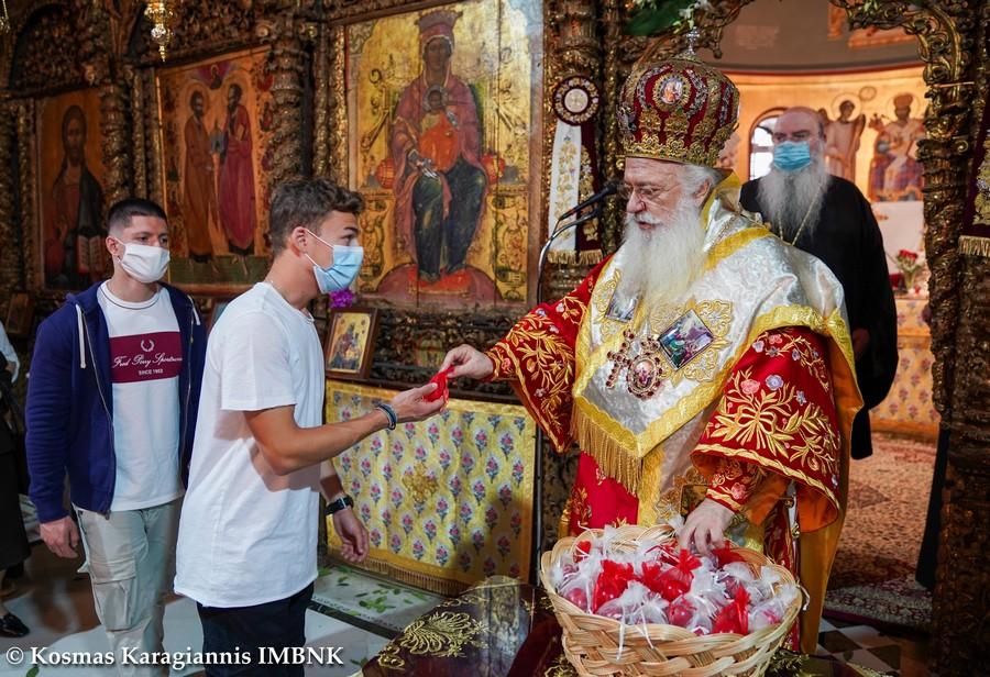 Ο Εσπερινός της Αγάπης στην Ιερά Μητρόπολη Βεροίας