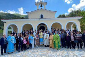 Με λιτανεία της εικόνας εορτάστηκε η Ανάληψη σε χωριό της Αλβανίας