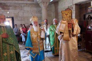 Στην αρχαία Απολλωνία εορτάστηκε η μνήμη  έξι  μαρτύρων