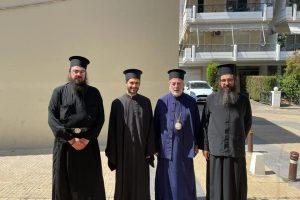 Ο Αρχιεπίσκοπος Θυατείρων κ.Νικήτας χειροτόνησε διάκονο στην Αθήνα