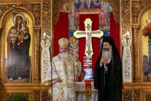 Η Εορτή της Αναλήψεως του Κυρίου στην Ιερά Μητρόπολη Φθιώτιδος  εορτάστηκε πανηγυρικά  παρουσία και του Σεβ. Βρεσθένης Θεοκλήτου