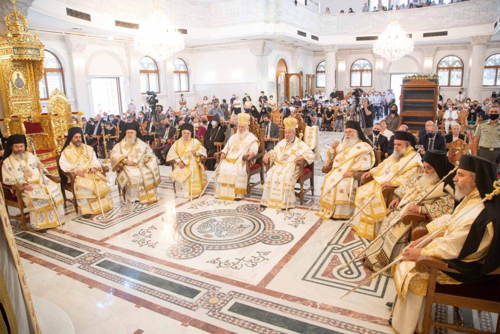 Ο Αρχιεπίσκοπος Ιερώνυμος στην Κύπρο: Ισχυροί οι δεσμοί Ελλάδας και Κύπρου – Τελέστηκαν τα εγκαίνια του νέου Καθεδρικού Ναού στη Λευκωσία